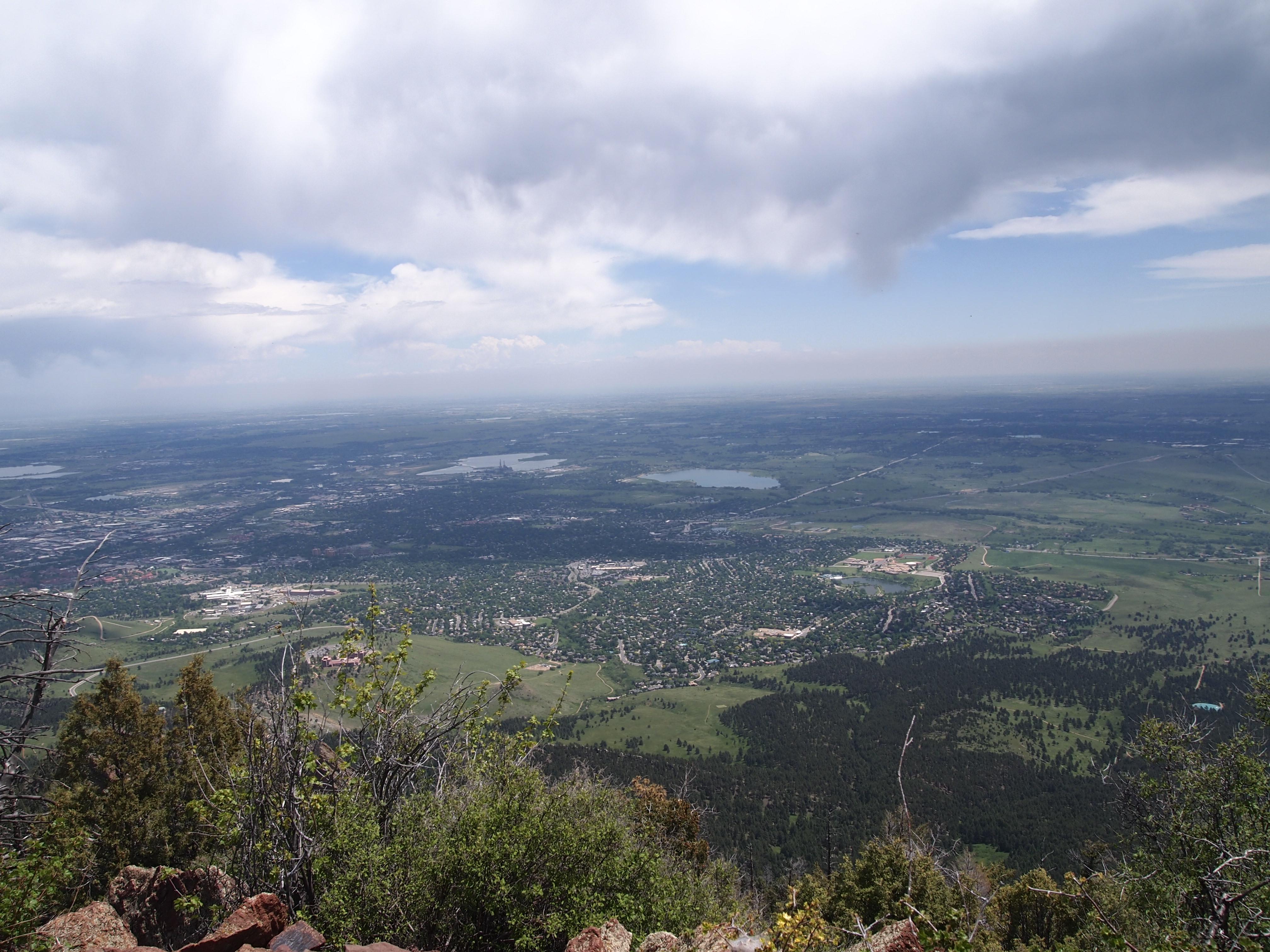 Boulder Colorado - Elevation in feet above sea level